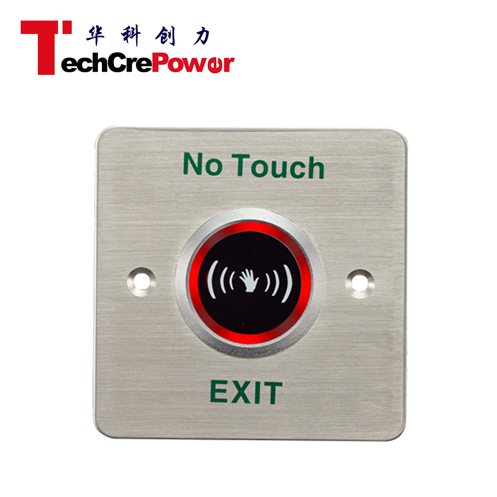 China Metal Door Exit Button Switch, Push Button - China Exit Button ...
