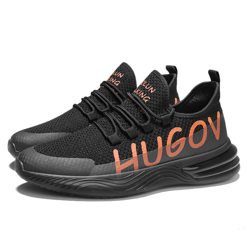 Fashion Mens Outdoor Sneakers running casual breathable sports shoes Woven shoes