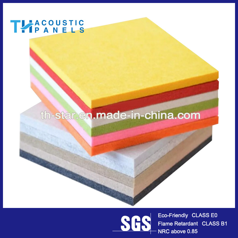 China Building Material Polyester Fiber Decorative Acoustic Wall ...