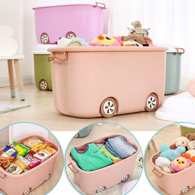 China Children′s Cartoon Plastic Toy Storage Box for Baby Clothes