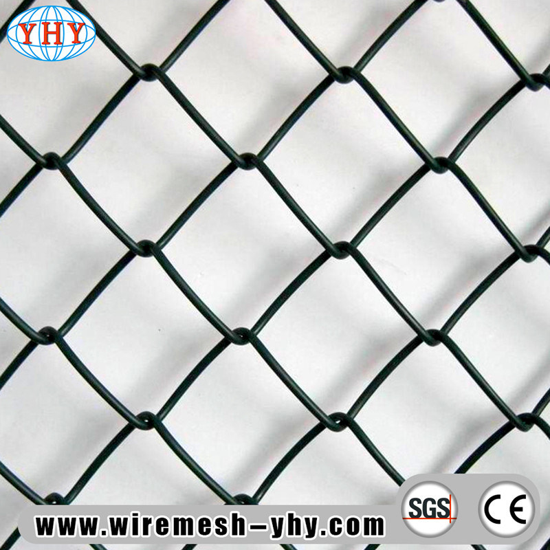 China Color Coated Install Chain Link Fence Used in Playground ...