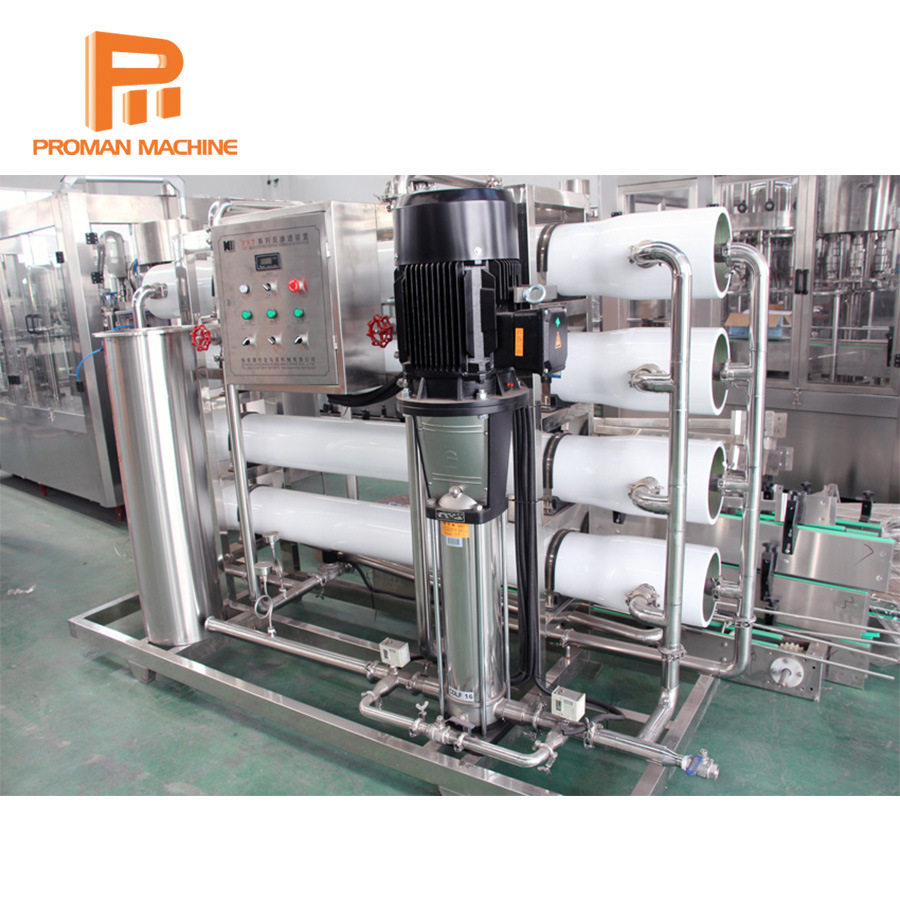 Pure Drinking Water Plant with Reverse Osmosis Water Filter System