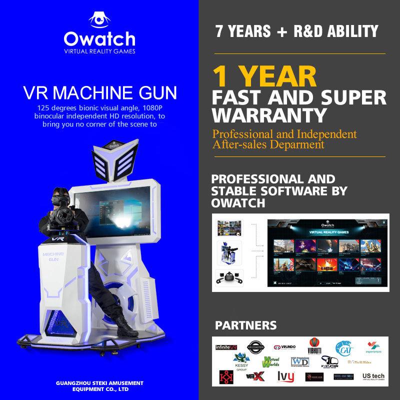 5db47dcb2e42 HTC Vive 9d Vr Standing Vr Space Platform Vr Gatling Gun Shooting Game  Machine