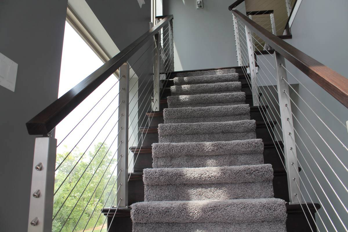 China Simple Stainless Steel Wire Railing/Balustrade/Cable Fence for ...