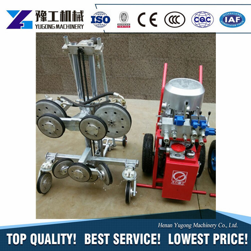 China Electric or Diesel Hydraulic Mining Diamond Wire Saw Machine ...
