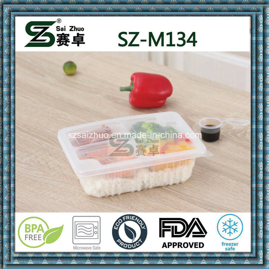 Wholesale Thicken Take Away Single Compartment Disposable Plastic Food Container