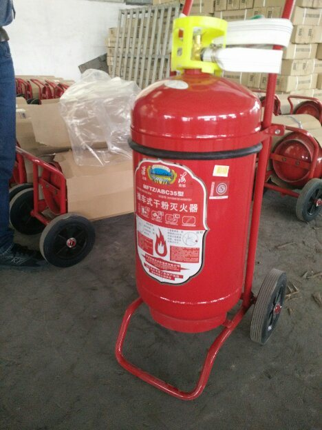 5 Lbs Dry Powder Fire Extinguishers with Cylinder & Tank