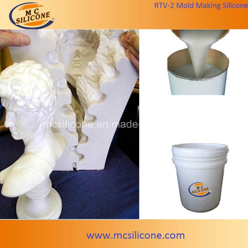 [Hot Item] Gypsum Statue Mold Making RTV2 Liquid Silicone Rubber