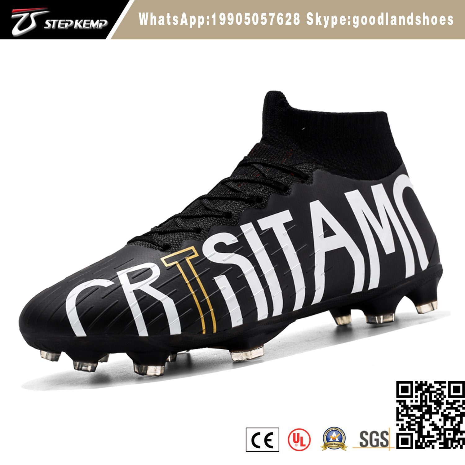 2019 New Design Custom Soccer Shoes
