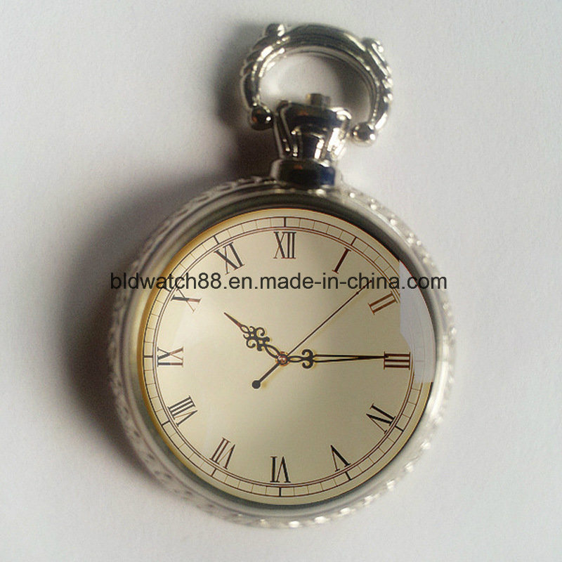 Custom Japan Movt Antique Pocket Watch with Chain pictures & photos