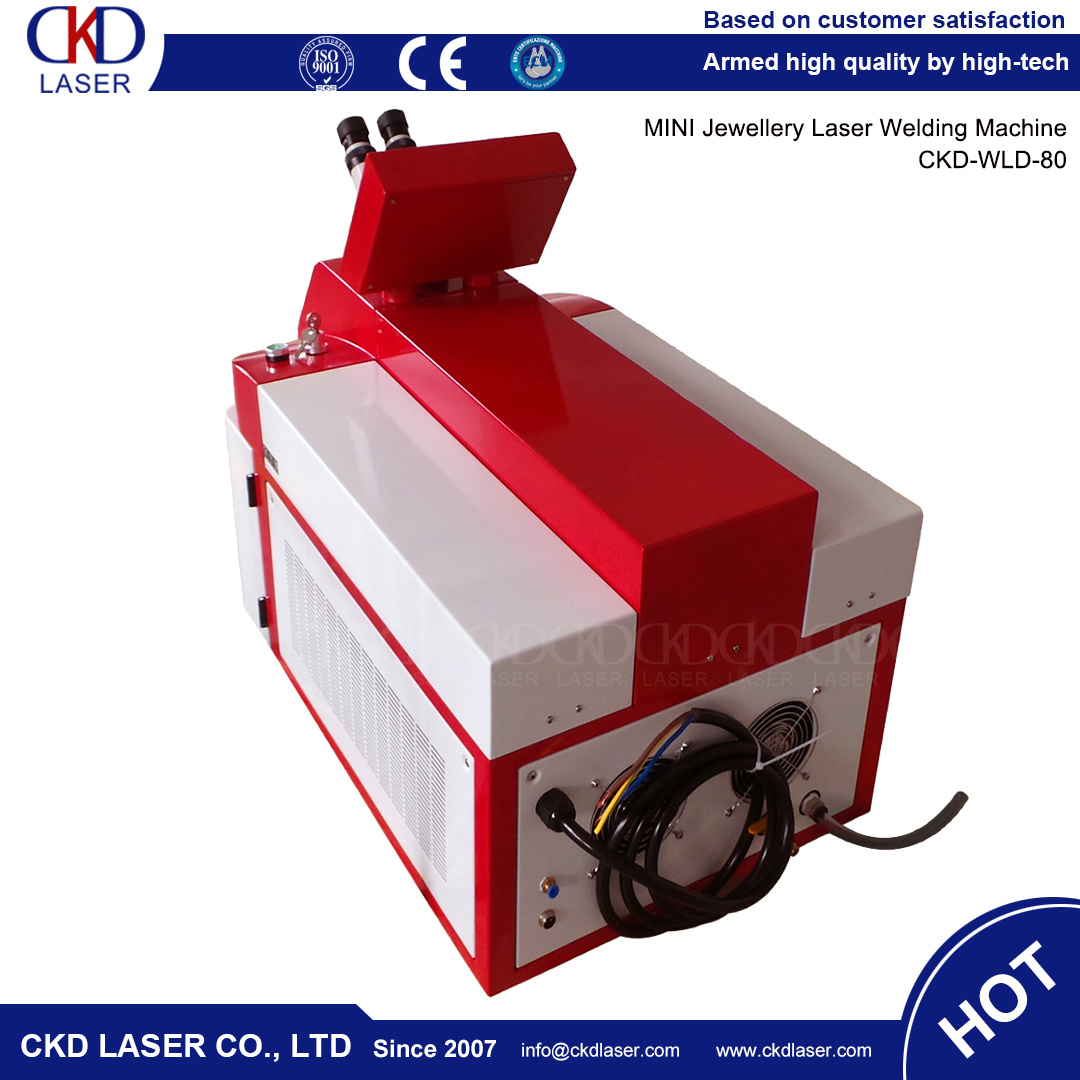 Mini Jewelry Laser Welding Machine for Gold Sliver Other Metal