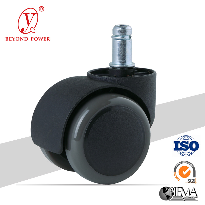 China Furniture Chair Casters Wheel PVC Castor Rubber Caster   China Caster,  Castor