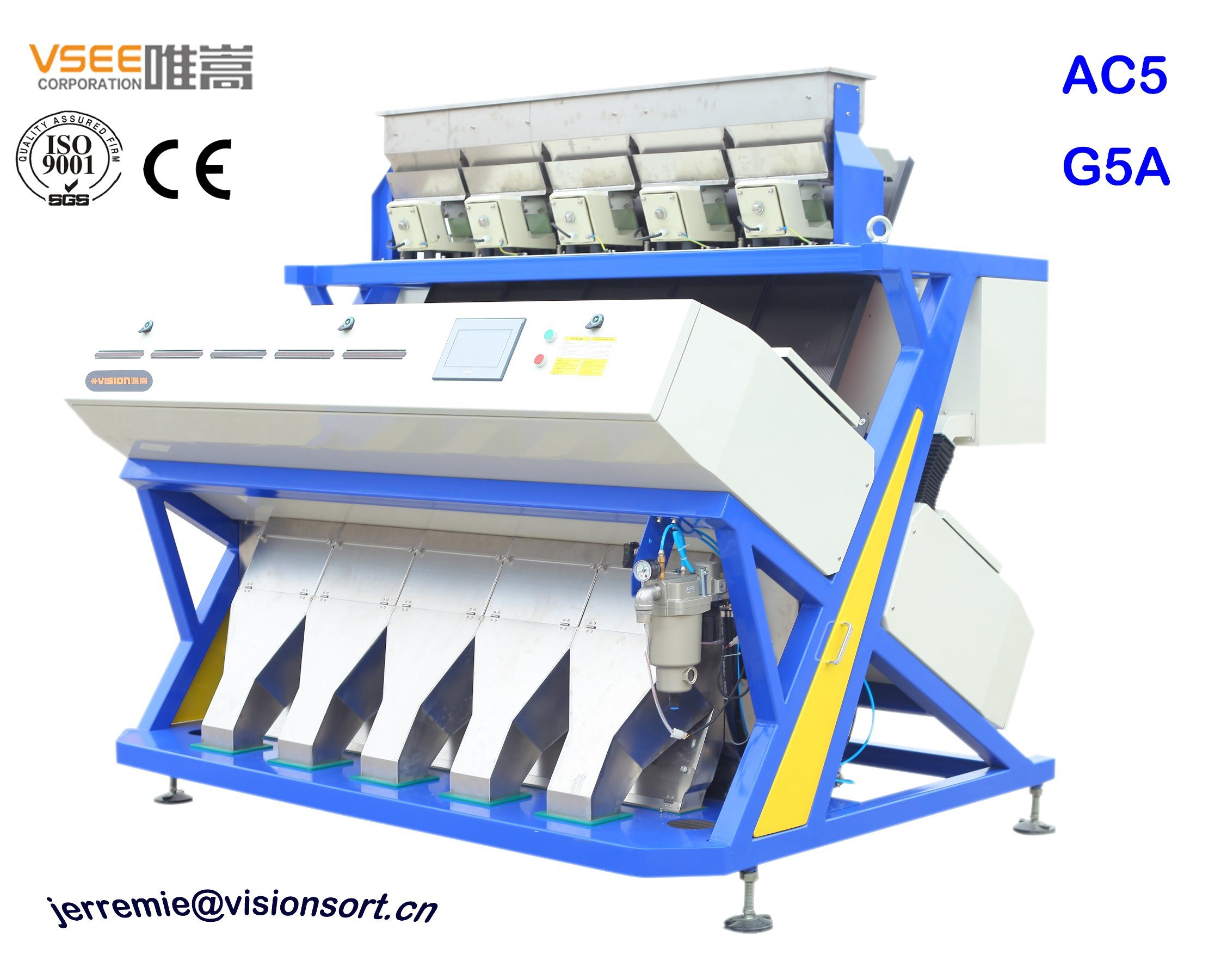 [Hot Item] Filipino Best Seller Corn Processing Machinery From China Vsee  Color Sorter