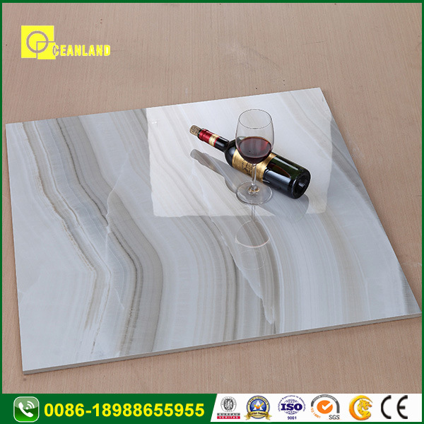 Foshan Polished Vitrified Porcelain Ceramic Floor Bathroom Wall Tile pictures & photos