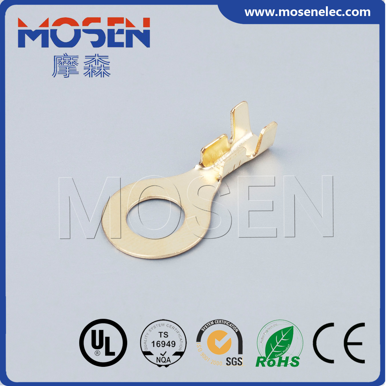 China Automobile Terminal Eyelet Terminal DJ431 Wire Connector ...
