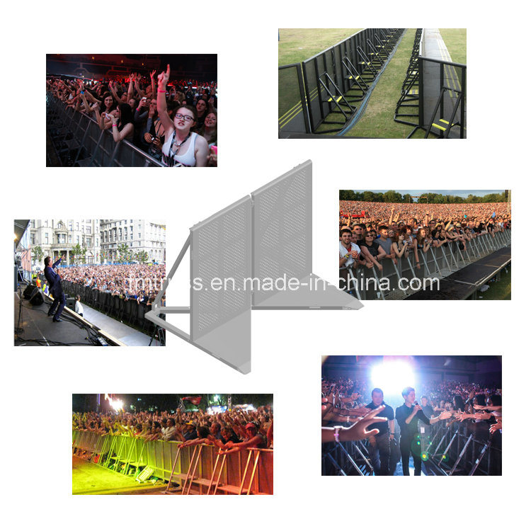 Concrete Barrier, Aluminum Concert Crowd Control Barrier, Control Barricade for Concert. pictures & photos