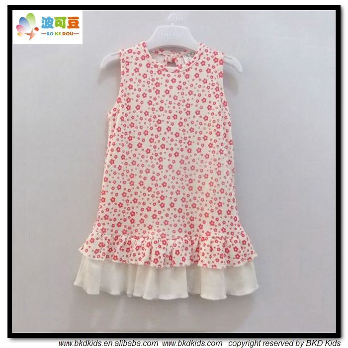 New Design Baby Clothes OEM Newborn Girl Dress