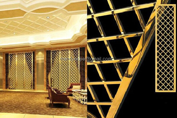 Stainless Steel Product Laser Cut Room Divider pictures & photos