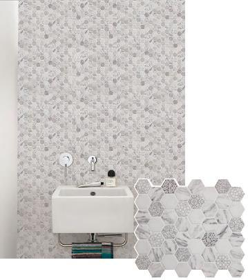 Newest Technology Full Body Herringbone Glass Mosaic pictures & photos