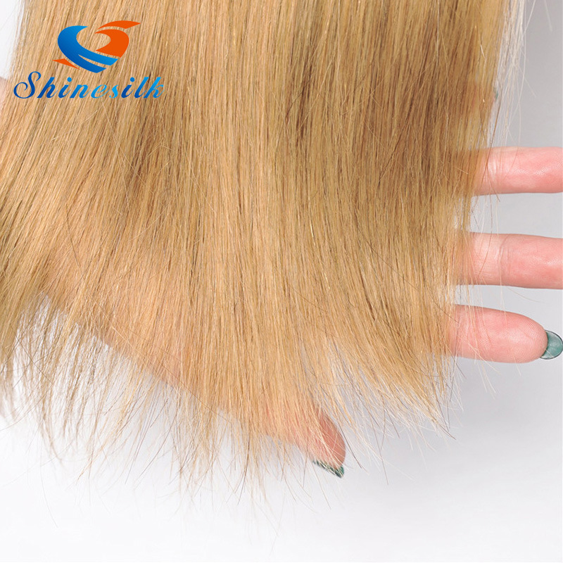China Cheap Ombre Blonde Bundles With Dark Roots Straight Human Hair
