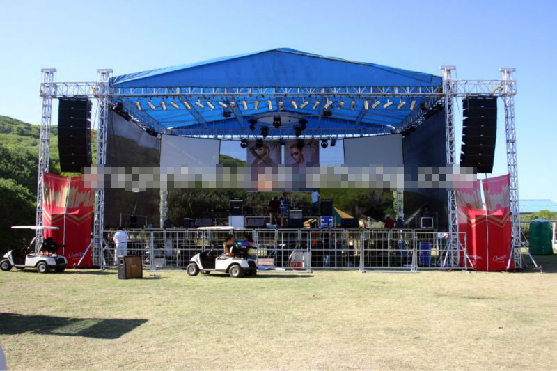 Outdoor Events Aluminum Stage Truss with Roof System (CS30)