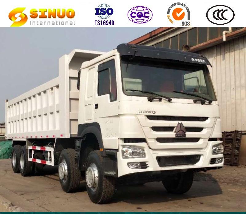 Unloading Sinotruk HOWO 6x4 Tipper Truck Heavy Duty Dump