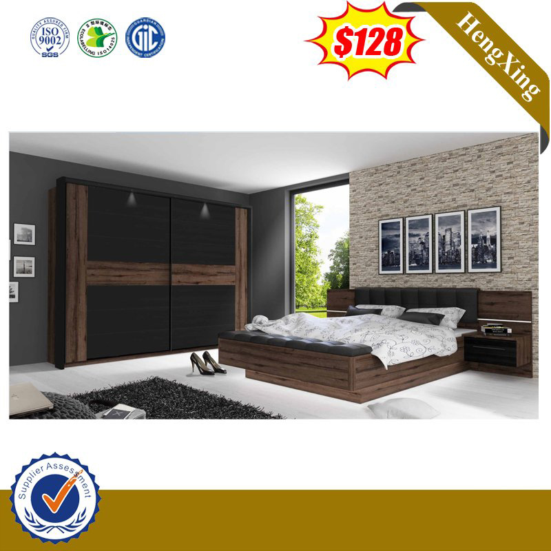 China Competitive Price Hotel Double Bed Wooden Room Furniture China Home Furniture Living Room Furniture