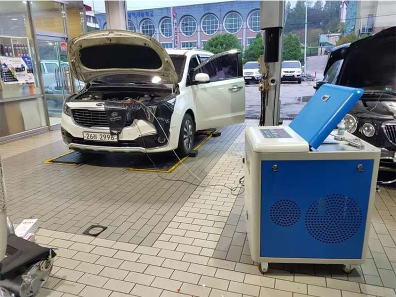 Waterless Diesel Water Steam High Pressure Car Washing Machine pictures & photos