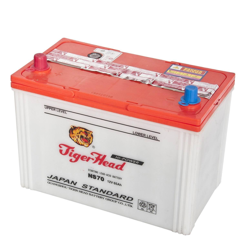 Long Durationn Car Battery Ns70 12v65ah