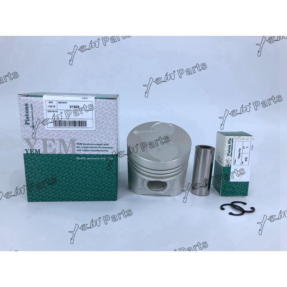 China Cylinder Piston 8000mm Fit For Kubota Diesel Engine V1903 V1702 Diagrams Idi