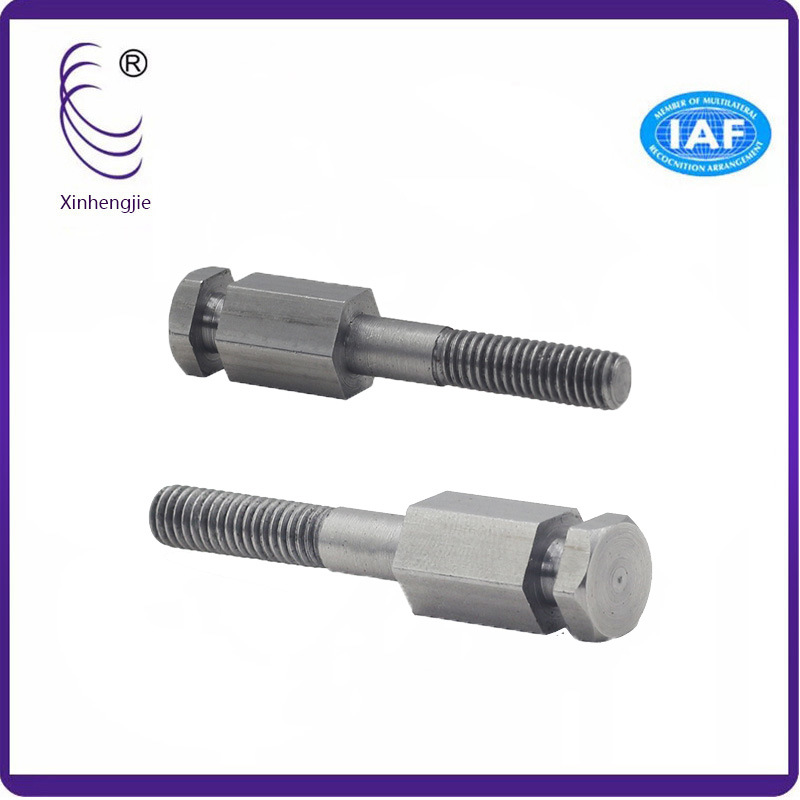 Three-Time Molding Non Standard Hexagonal Half Tooth Screw