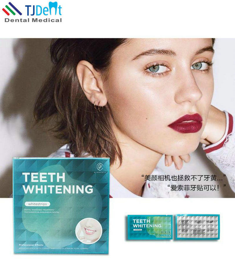 China Diy Home Use Efficient Dental Teeth Whitening Strips China
