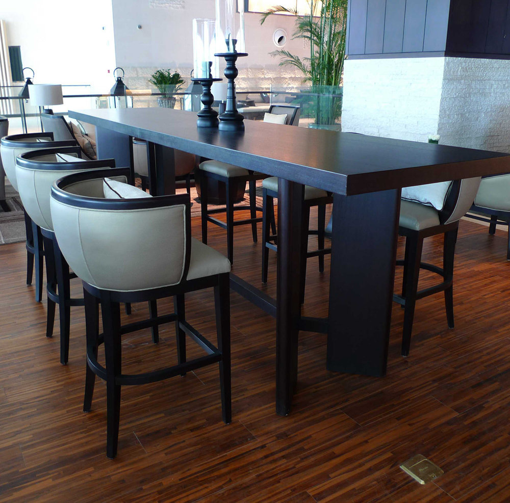 China High Dining Chair Table For Indian Restaurant Furniture 4 Less
