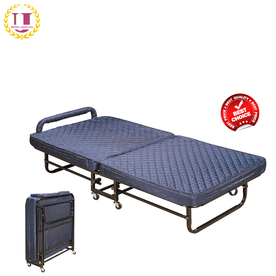 - China Metal Rollaway Foldable Guest Bed Frame - China Folding Bed
