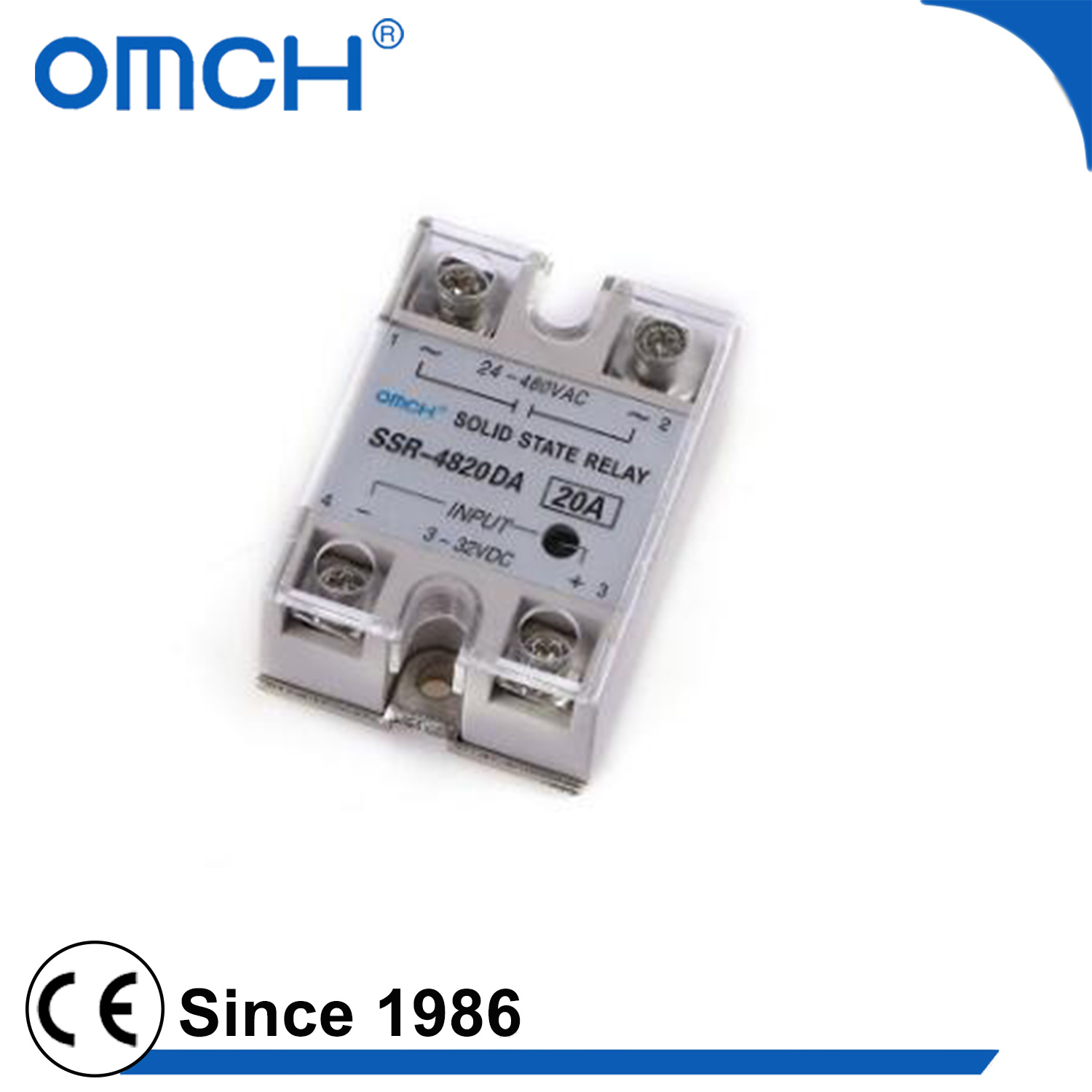 China 100amp 120amp 150amp Reliable Dc Single Phase Solid State Relay Circuit Ssr
