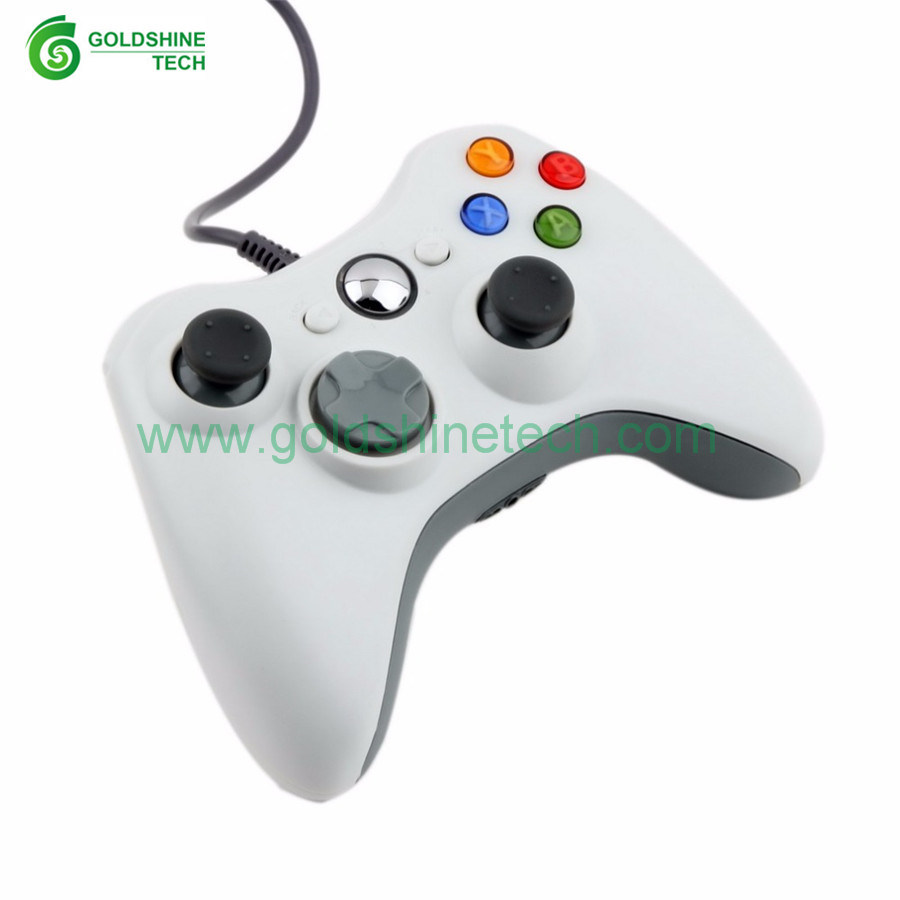 China White xBox360 Wired USB Controller 4 Color Gamepad Android ...