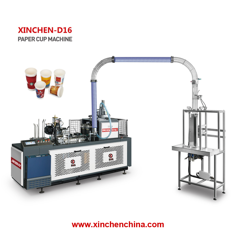 [Hot Item] High Performance Hot Water Paper Cups Making Machine for Sale