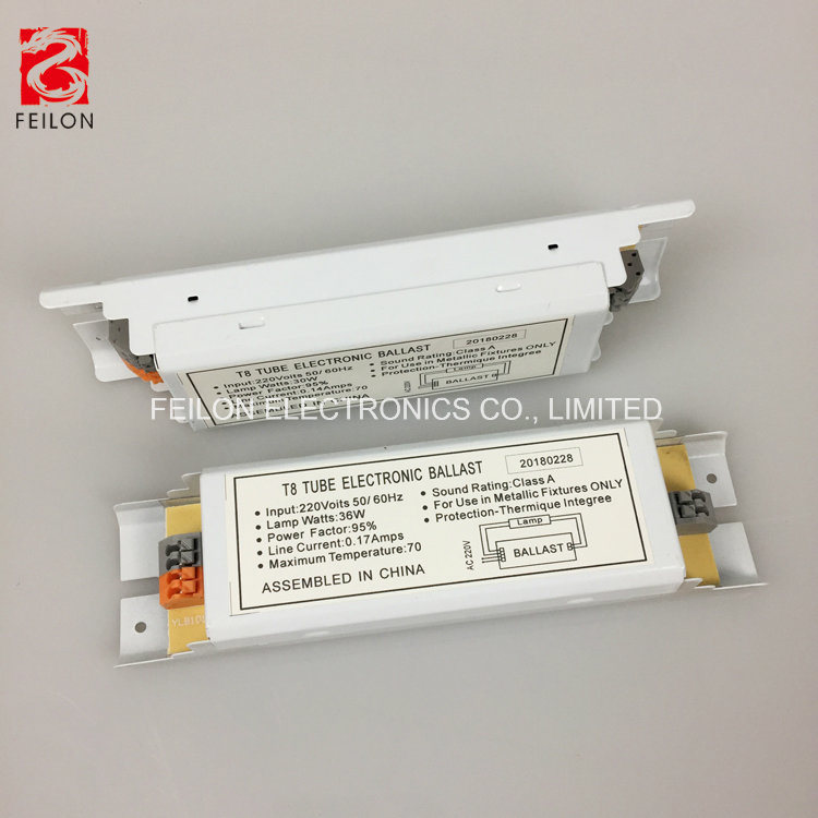 China Single Fluorescent Light Ballast 1x18w Electronic