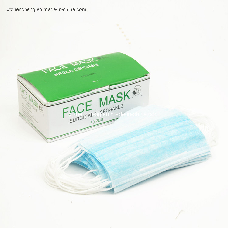 Face Layer Item Disposable Nonwoven Mask Three hot