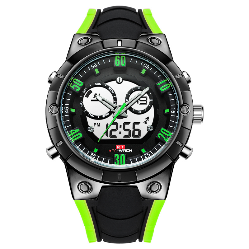 Mans Watches Watches Digital Watch Quality Dual Time Watches Quartz Custome Wholesale Sports Watch pictures & photos