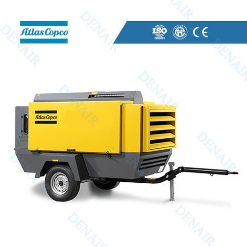 [Hot Item] Atlas Portable/Mobile Rotary Screw Type Diesel Air Compressor  Price