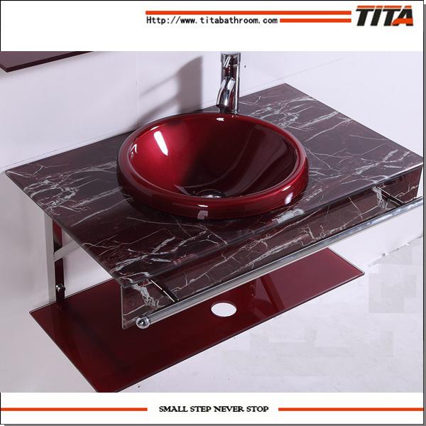 China Bathroom Glass Sink/Washing Basin/Wash Basin Models T 7   China  Bathroom Glass Sink, Washing Basin