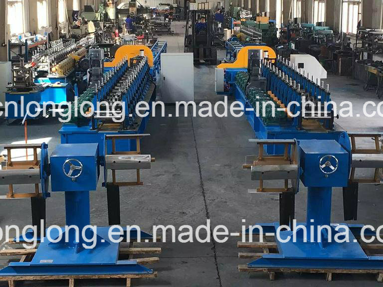 Building Steel Structure Roll Forming Machine with ISO 9001: 2008