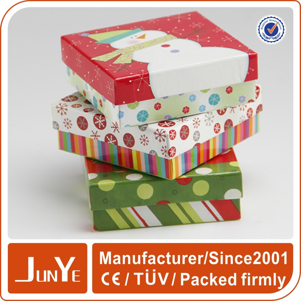 China Wholesale Christmas Cute And Small Gift Boxes For Sale China