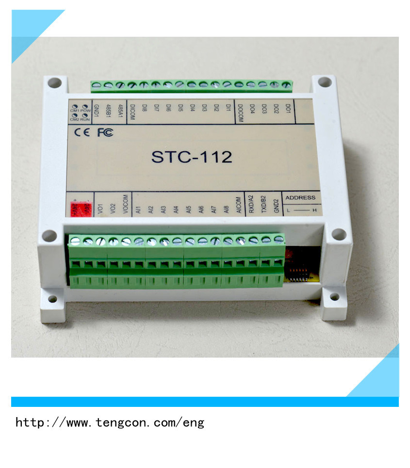[Hot Item] Relay Output Module Tengcon Stc-112 Modbus I/O Module