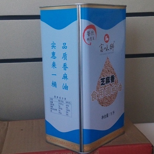 China 5L Best Catering Cooking Seasoning Sesame Oil - China