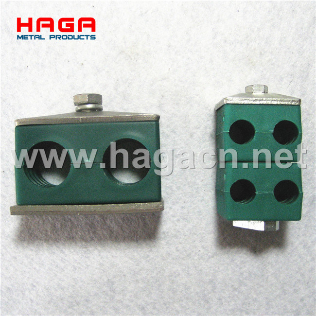 Hydraulic Double Plastic Tube Clamp
