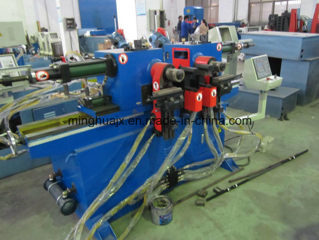 High Quality Double Head Pipe Bending Machine Sw38
