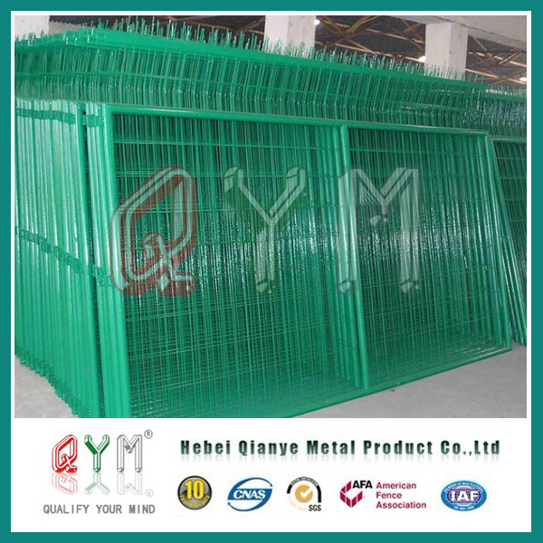 China PVC Coated Welded Wire Mesh Fence /Metal Fence Panel Photos ...