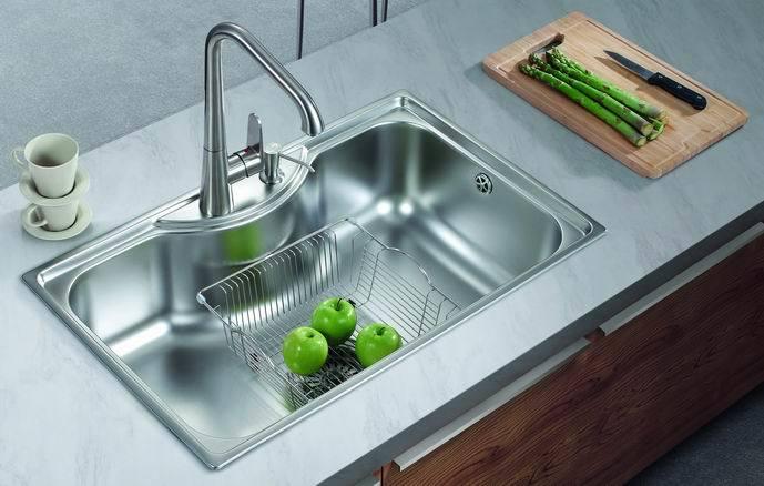 [Hot Item] Topmount Single Bowl Commercial Kitchen Sinks of Bk8501,  Stainless Steel 304 (BK8501)